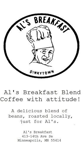 Coffee label 2