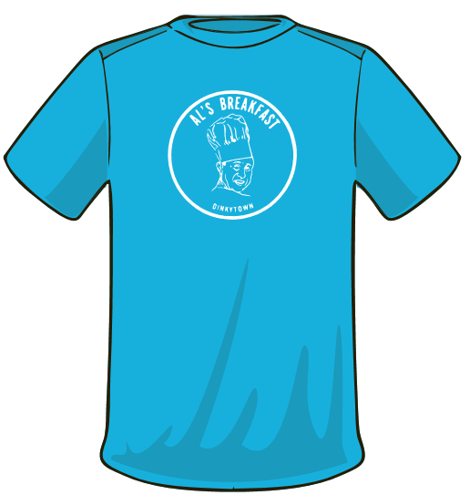 Turq t front